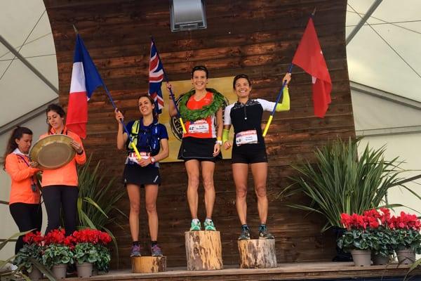 2015 Les Templiers womens podium
