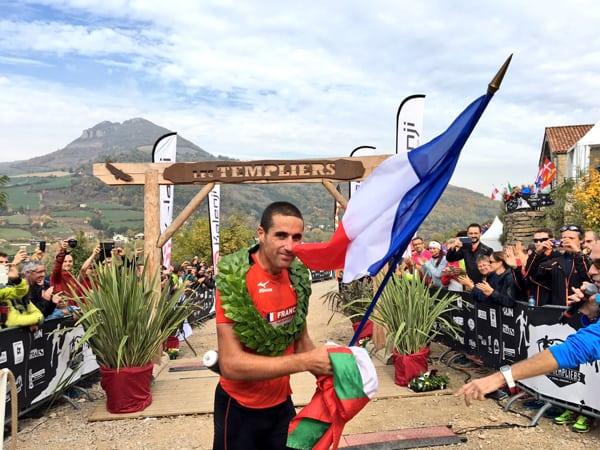 Benoit Cori - 2015 Les Templiers champion