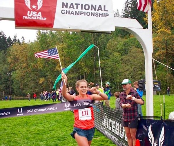Kimber Mattox - 2015 USATF Trail Half Marathon National Champion
