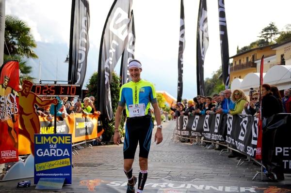 Tadei Pivk - 2015 Limone Extreme Skyrace second place