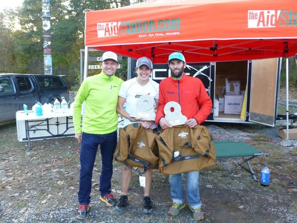 Amy and Brian Rusiecki - 2015 Grindstone 100 Mile Champions - by eco-x sports