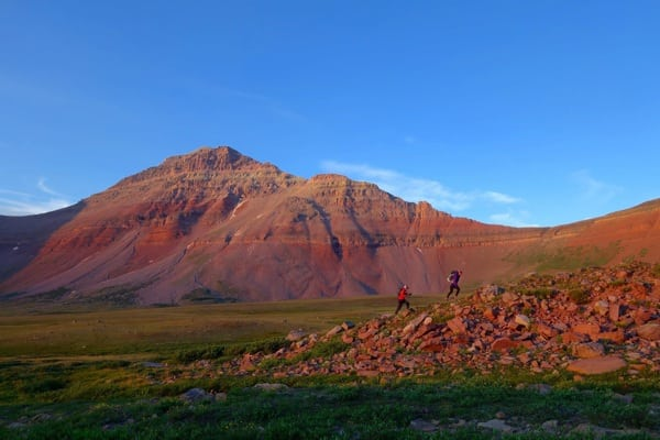 Meghan Hicks and Anna Frost - Uinta Mountains
