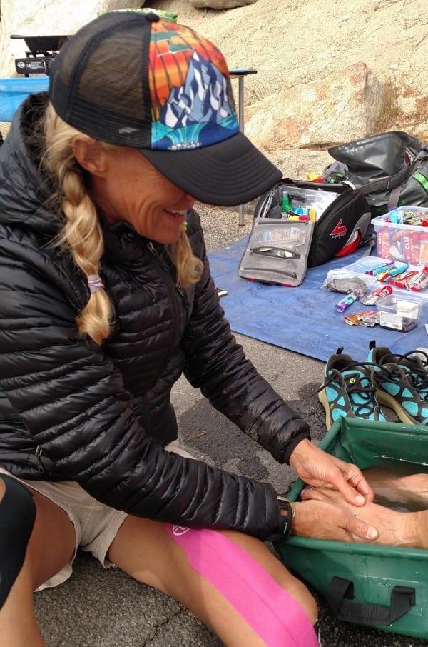 Krissy Moehl - Tahoe Rim Trail womens supported FKT 8