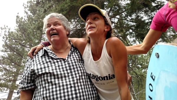 Krissy Moehl - Tahoe Rim Trail womens supported FKT 6