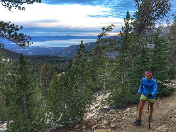 Krissy Moehl - Tahoe Rim Trail womens supported FKT 2