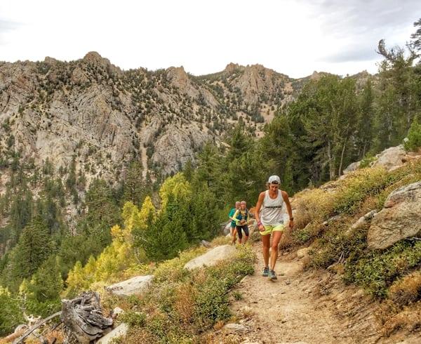 Krissy Moehl - Tahoe Rim Trail womens supported FKT 1