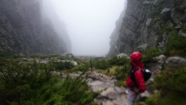 Platteklip Gorge - South Africa trail running 3