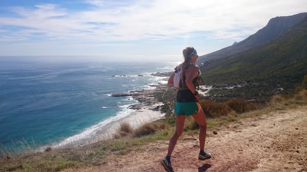 Ocean views - South Africa trail running 7