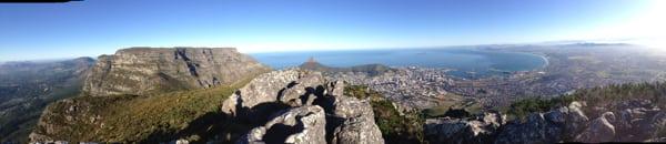 Devils Peak view - South Africa trail running 4