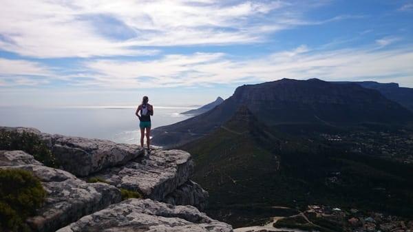 Karbonkelberg view - South Africa trail running 8