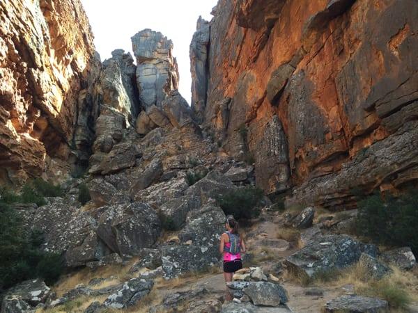 Wolfberg Cracks - South Africa trail running 5