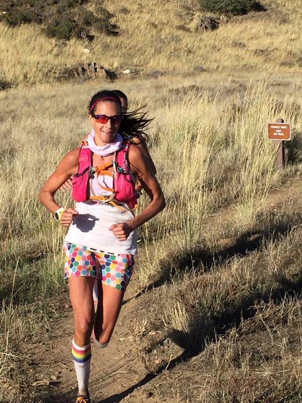 Cindy Lynch, 2015 Cuyamaca 100k champion, by Cuyamaca 100k