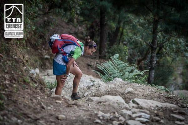 Anna Comet - 2015 Everest Trail Race champion