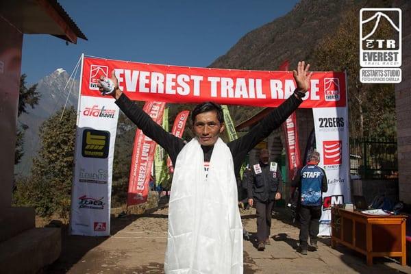 Bhim Gurung - 2015 Everest Trail Race champion