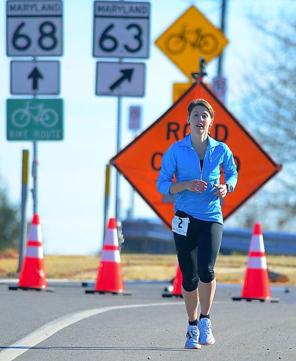 Sarah Bard - 2015 JFK 50 Mile champion