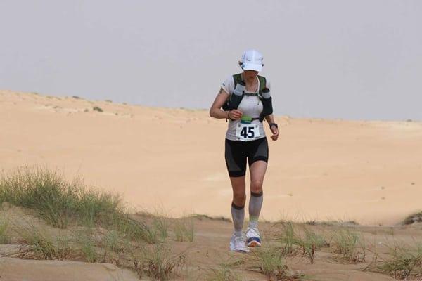 Elisabet Barnes - 2015 Oman Desert Marathon champion