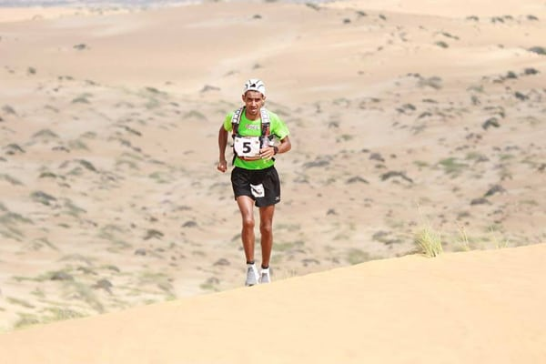 Rachid El Morabity - 2015 Oman Desert Marathon champion