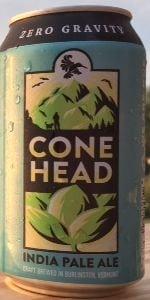 Zero Gravity Craft Brewery Conehead IPA