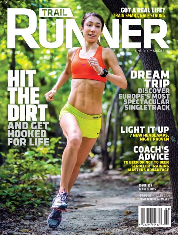 Trail Runner cover - March 2015