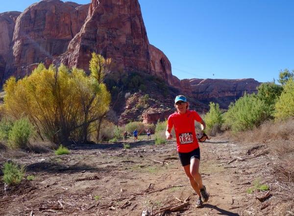 Megan Kimmel - 2015 Moab Trail Marathon champion