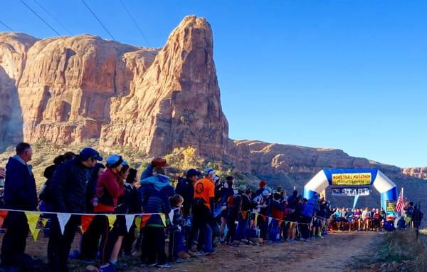 2015 Moab Trail Marathon start