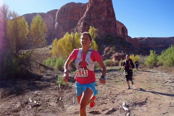 Stevie Kremer - 2015 Moab Trail Marathon second place