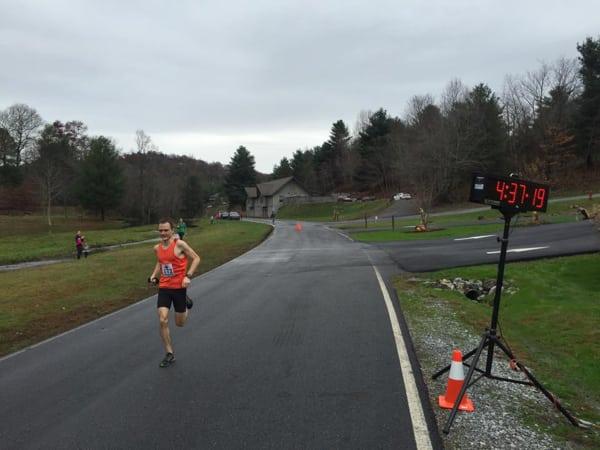 Jason Parks - 2015 Georgia Sky to Summit 50k champion - by Run Bum Tours