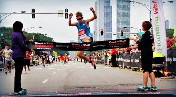 Andy Wacker - 2014 Chicago Rock 'n' Roll Half Marathon