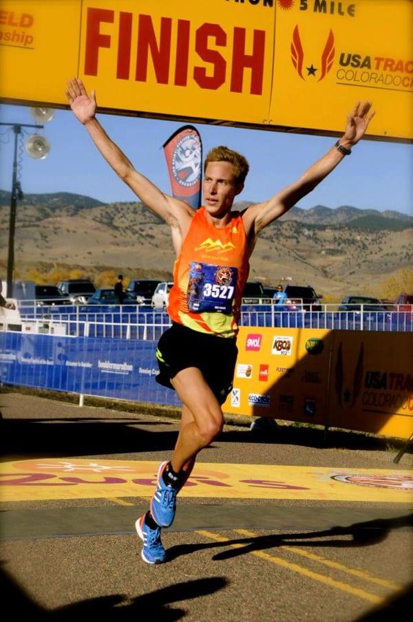 Andy Wacker - 2012 half marathon win