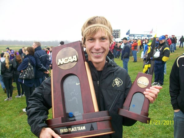 Andy Wacker - 2011 All American cross country