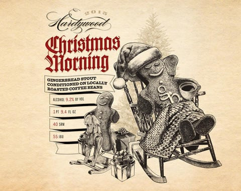 Hardywood Park Craft Brewery Christmas Morning Stout