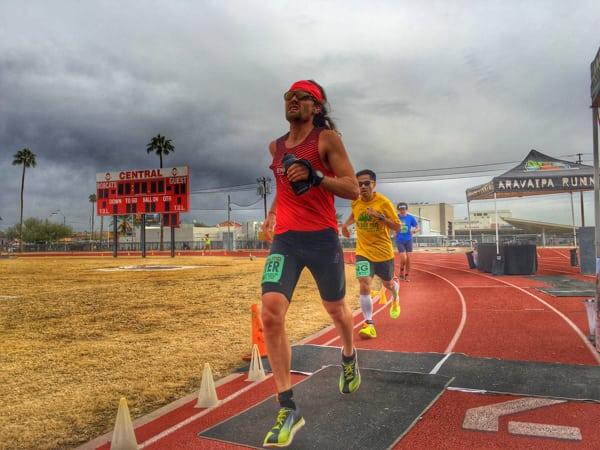 Zach Bitter - track 100-mile American record at the 2015 Desert Solstice Invitational 2