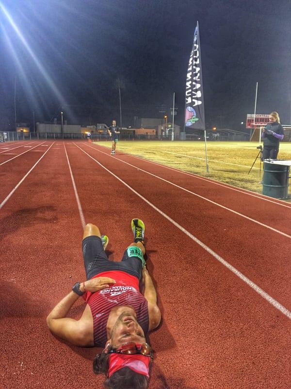 Zach Bitter - track 100-mile American record at the 2015 Desert Solstice Invitational 3