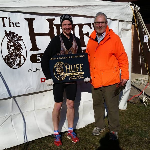 James Fisher, by HUFF 50k Trail Run