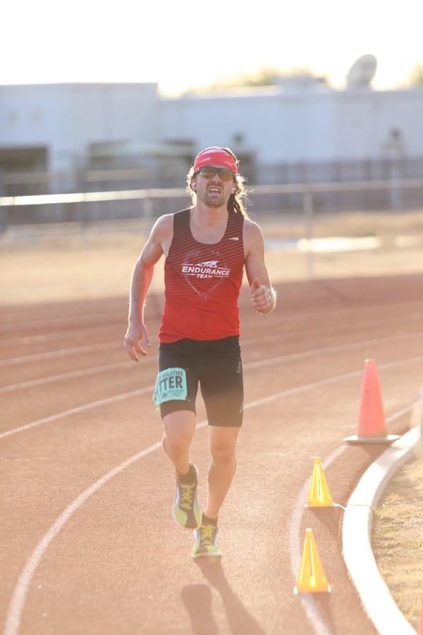 Zach Bitter - 100-mile American record at the 2015 Desert Solstice Invitational