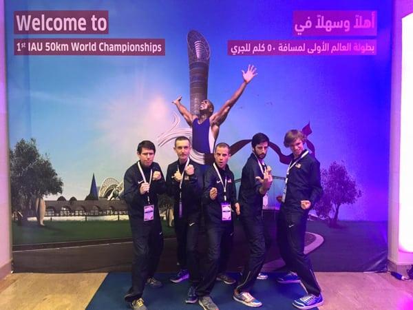 Tony Migliozzi - men's Team USA at the 2015 IAU 50k World Championships