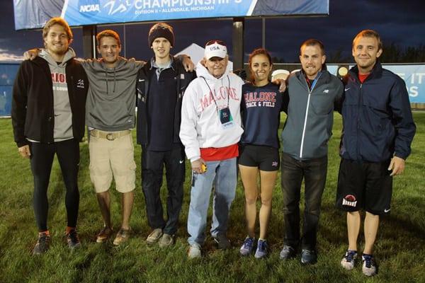Tony Migliozzi - with Jack Hazen 2x Olympics Track and Field Distance coach