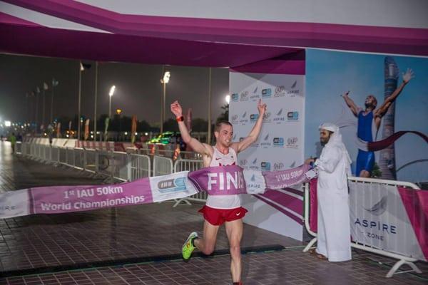 Tony Migliozzi - 2015 IAU 50k World Champion