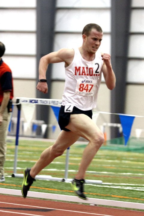 Tony Migliozzi - running the 5k in 1433 for Malone University