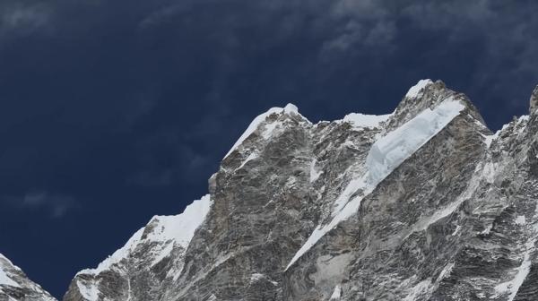 Langtang Valley peaks