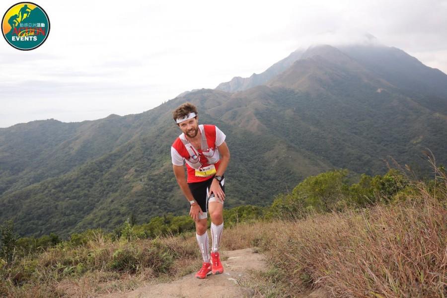 Francois D'Haene - 2015 MSIG Lantau 50k champion