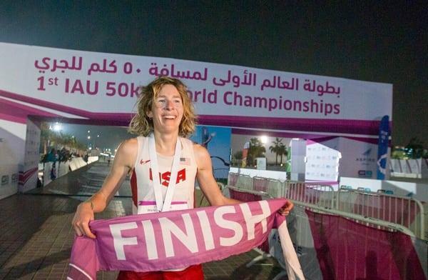 Camille Herron - 2015 IAU 50k World Champion