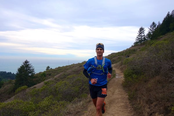 Dylan Bowman - 2015 TNF EC 50 Mile second place