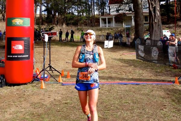 Larisa Dannis - 2015 TNF EC 50 Mile third place