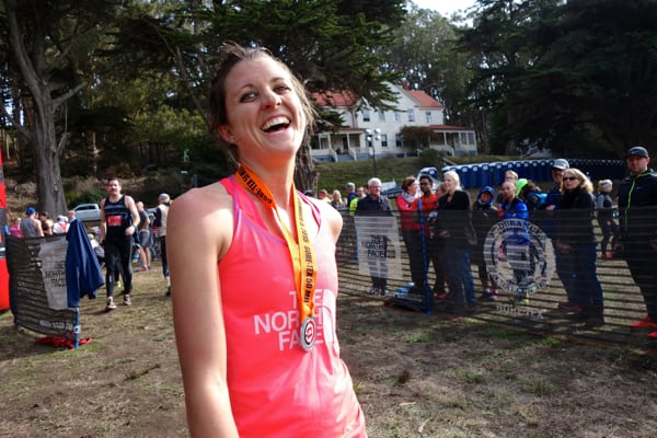 Ruth Croft - 2015 TNF EC 50 Mile fourth place