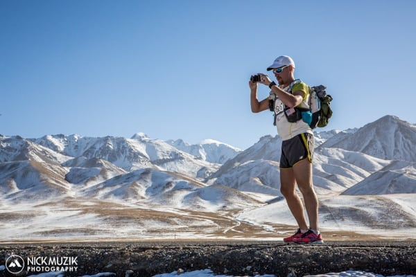Ultra-Trail Gobi Race - Bryon Powell - Camera at Highpoint