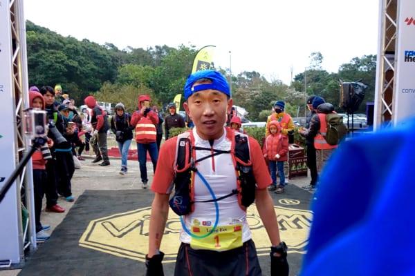 Yan Long-Fei - 2016 Vibram Hong Kong 100k second place