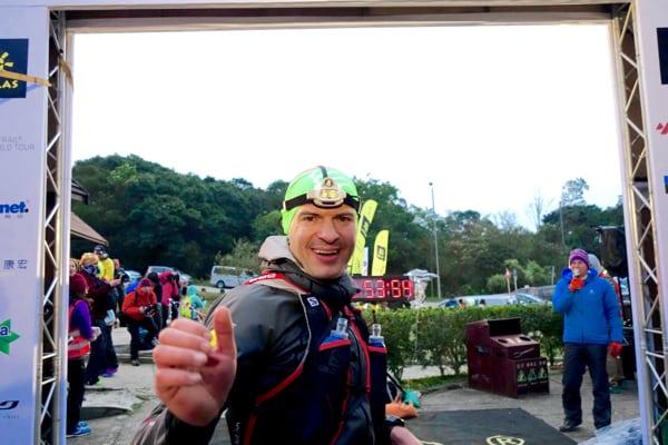 Gediminas Grinius - 2016 Vibram Hong Kong 100k third place