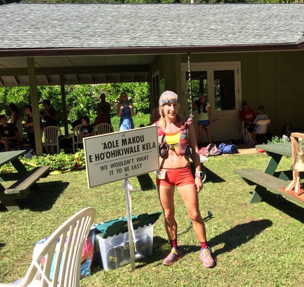 Denise Bourassa - 2016 HURT 100 Mile champion