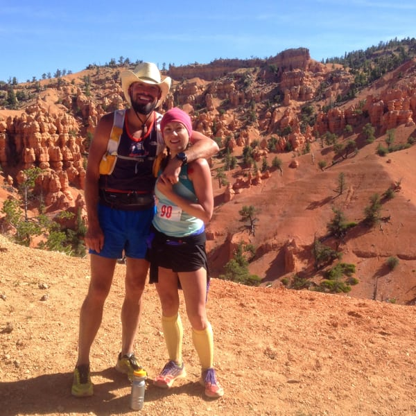 Hal Koerner - with Carly Koerner at Bryce Canyon in Utah